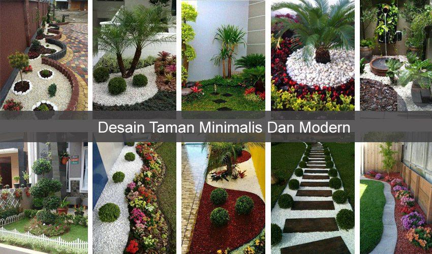 Taman Minimalis Modern
